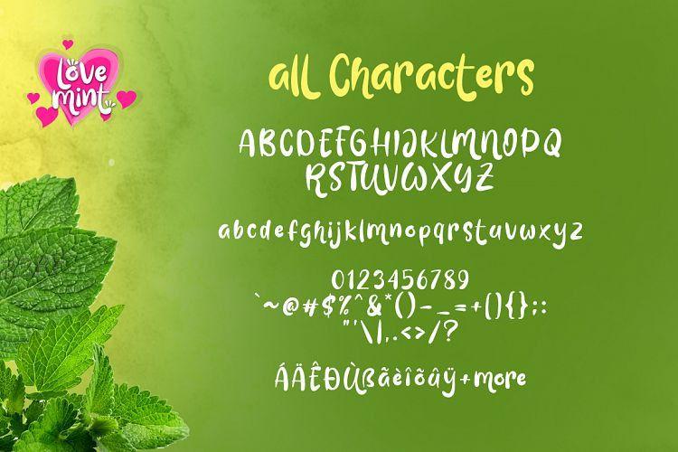 Love Mint Display Font-3