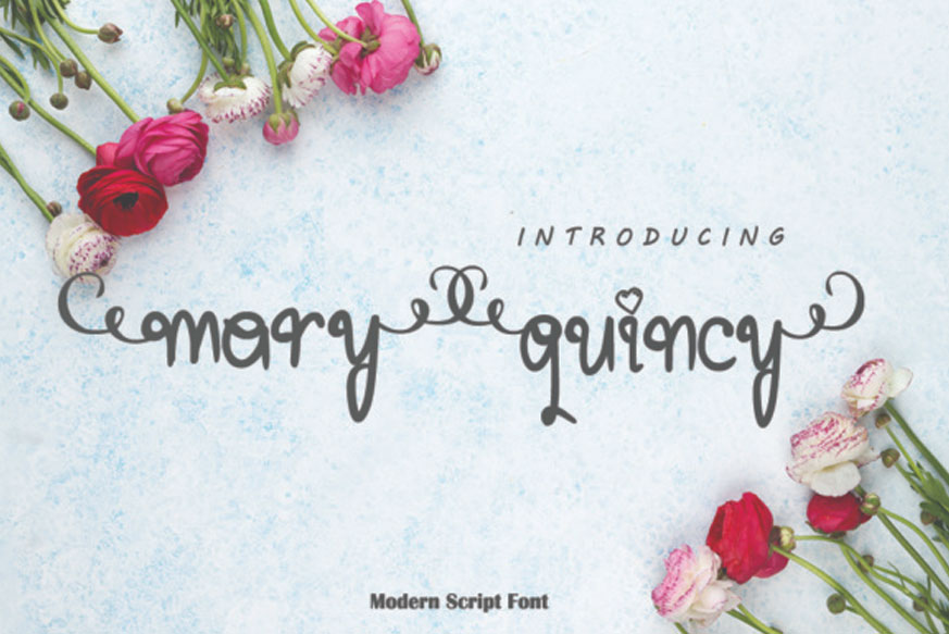 Mary Quincy Font-1