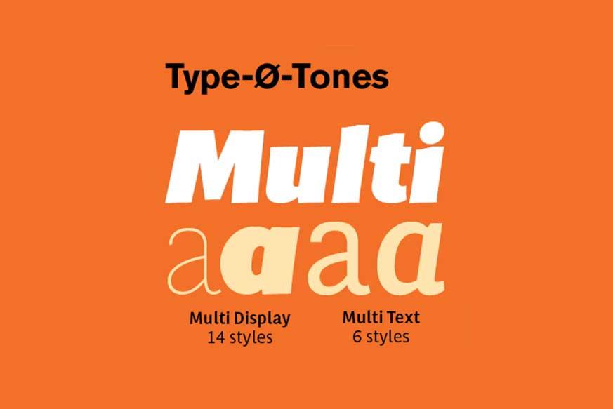 Multi Font Family - Dafont Free