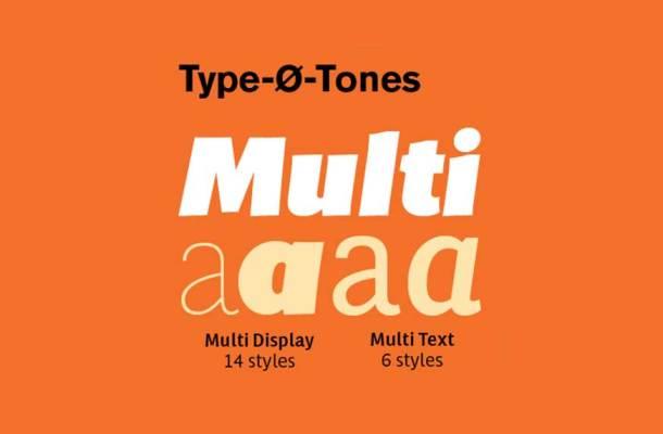 Multi Font Family
