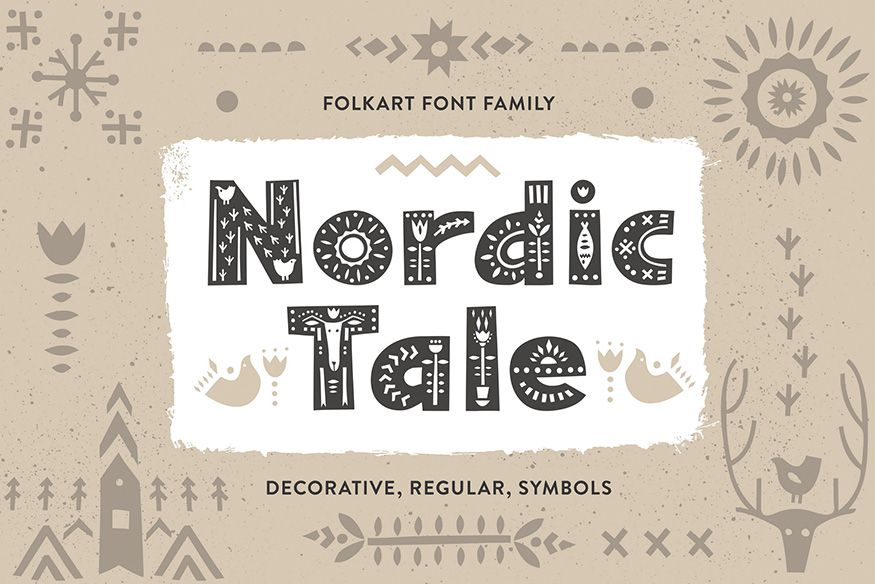 Nordic Tale Font Family-1