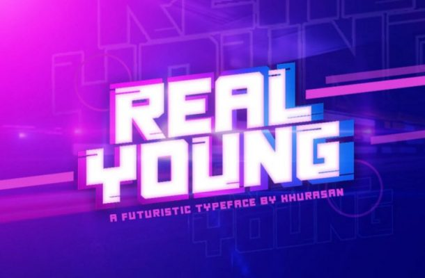 Real Young Typeface