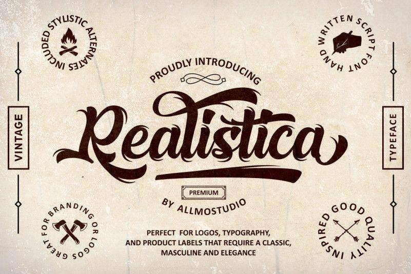 Realistica Script Font