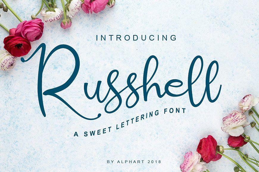 Russhell Font-1