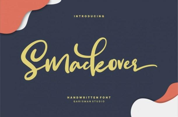 Smackover Handwritten Font