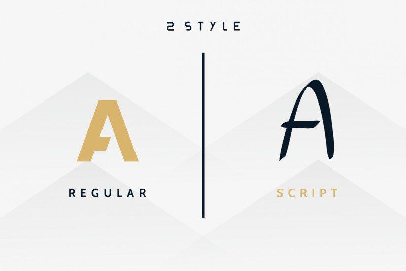 THIAGA Font Duo-2