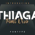 THIAGA Font Duo