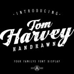 Tom Harvey Display Font