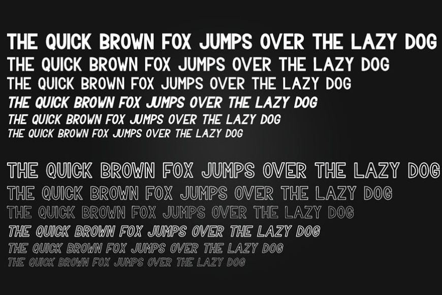 Trevor Sans Serif Font Family-3