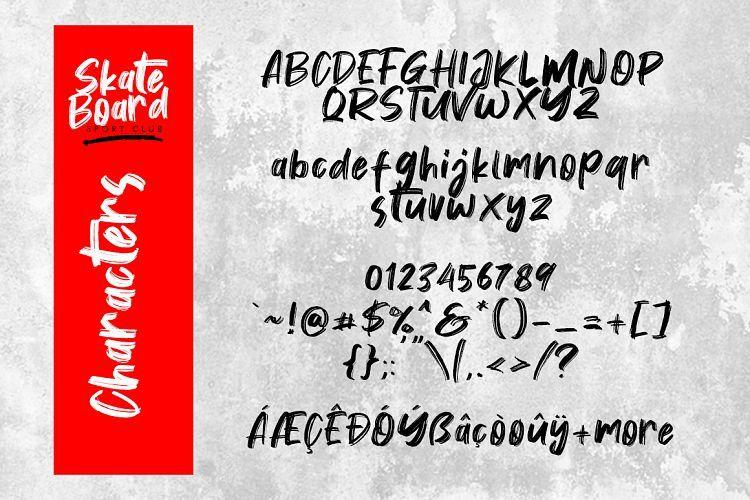Vontens Brush Font-3