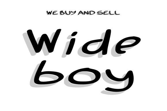 Wide Boy Handwritten Font