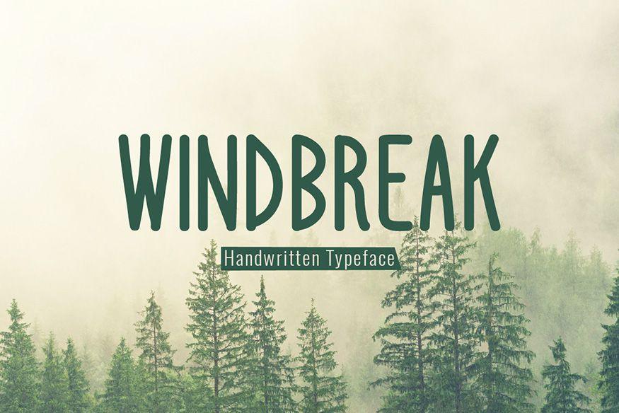 Windbreak Font-1