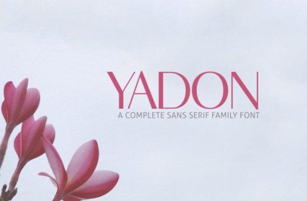 Yadon Sans Serif Font