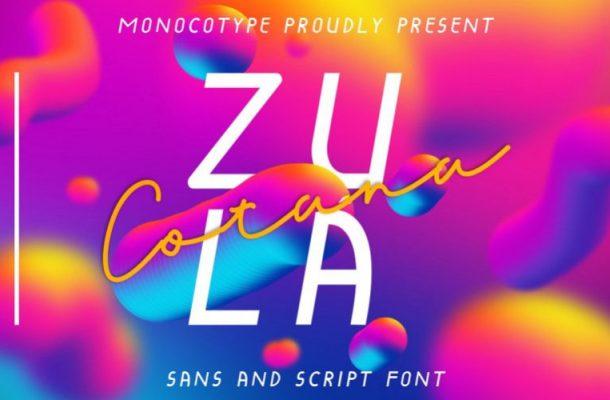 Zula Cotana Duo Font