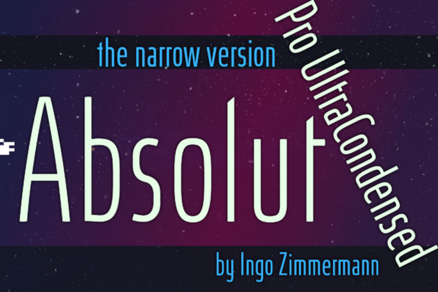 Absolut Pro Ultra Condensed Font-1