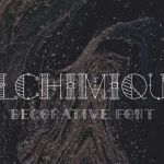 Alchimique Decorative Font