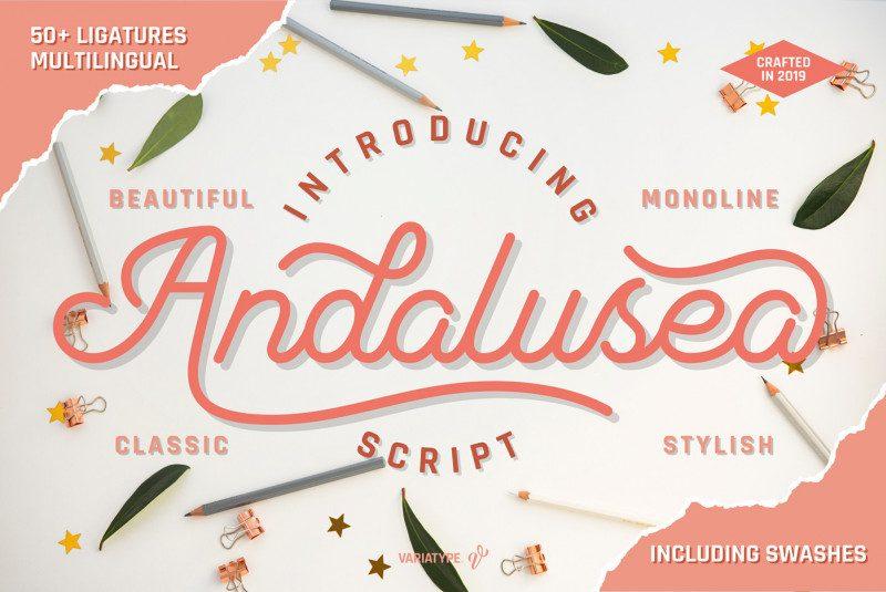 Andalusea Script Font-1