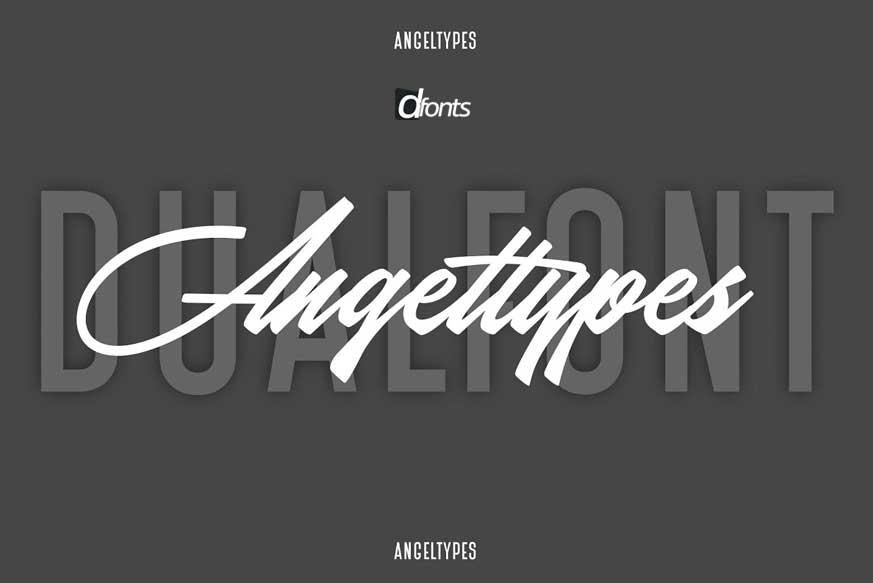 Angel Types Dual Font-1