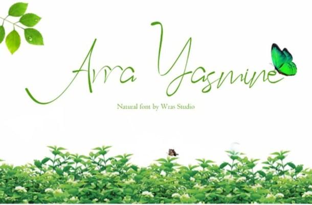 Arra Yasmine Font