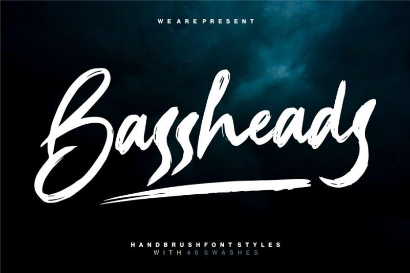 Bassheads Brush Font-1