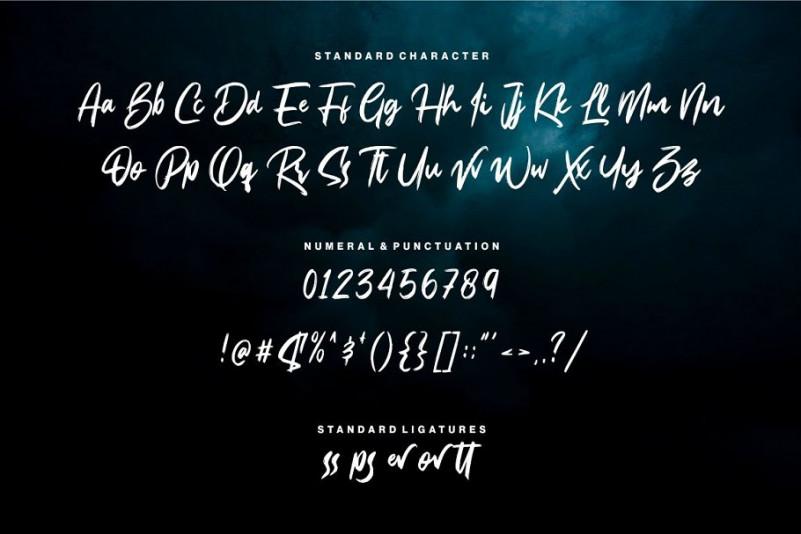Bassheads Brush Font-3