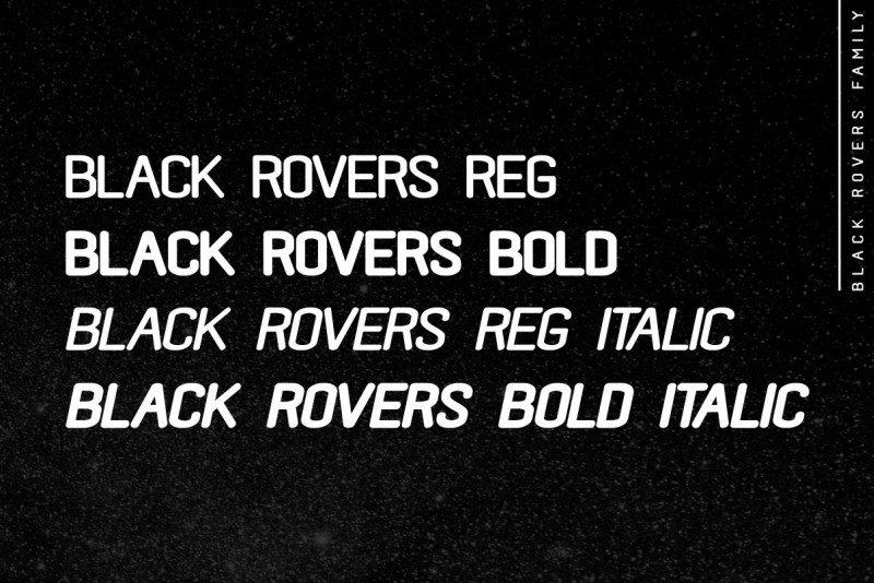 Black Rovers Sans Font-2