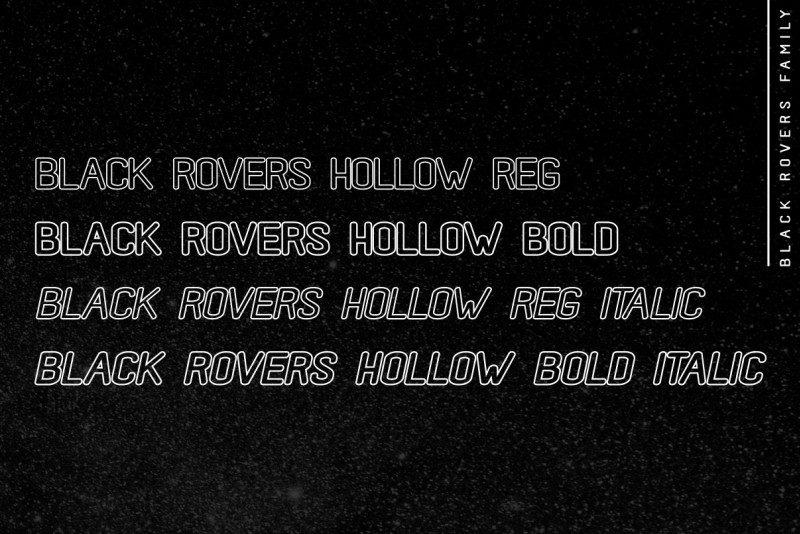 Black Rovers Sans Font-3