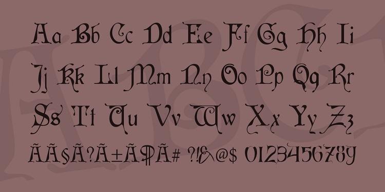 Cardina Script Font-3