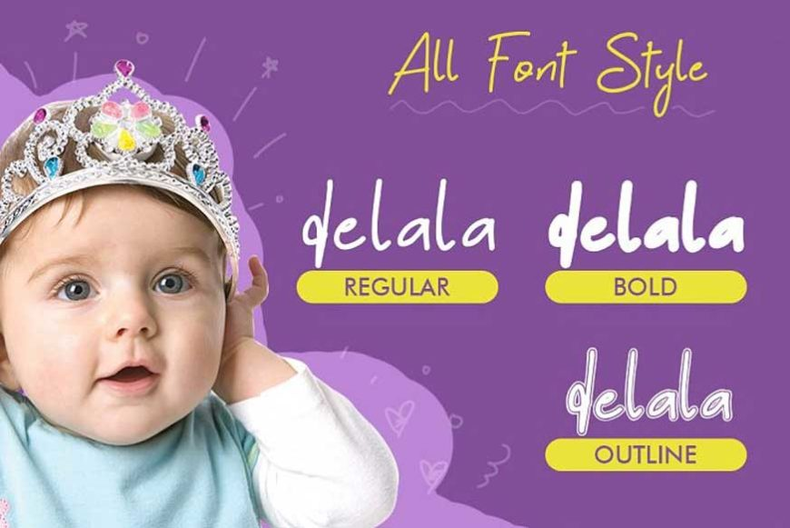 Delala Font-2