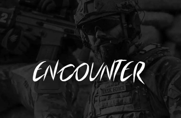 Encounter Display Typeface