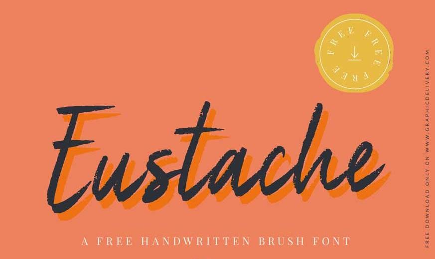Eustache Handwritten Brush Font-1