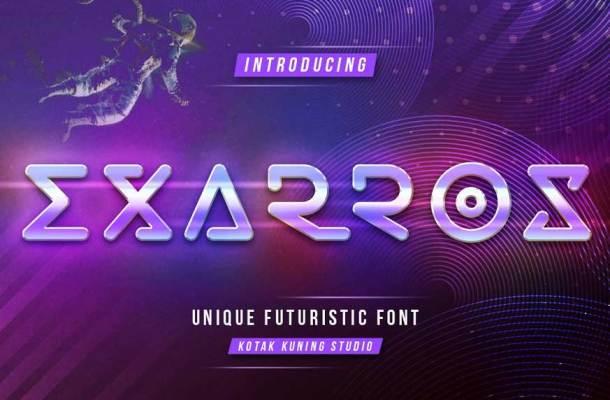 Futuristic Fonts Dafont