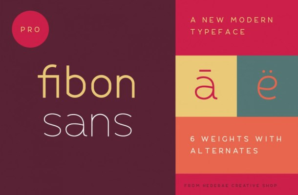 Fibon Sans Font