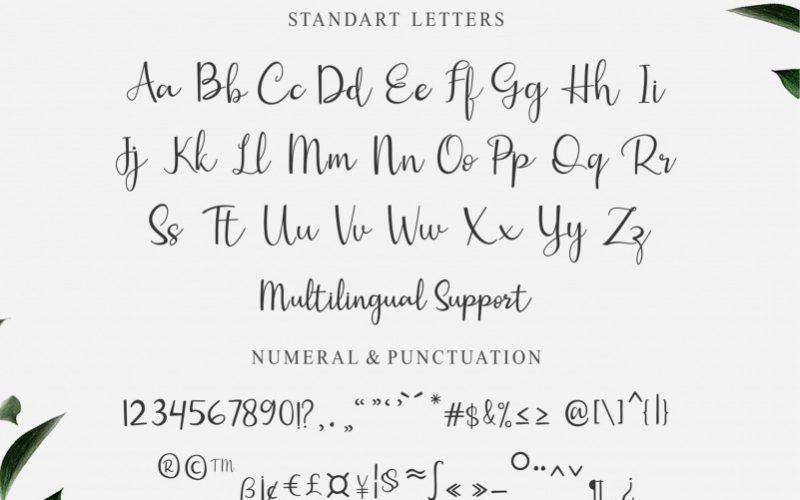 Gisella Handwritten Font-3
