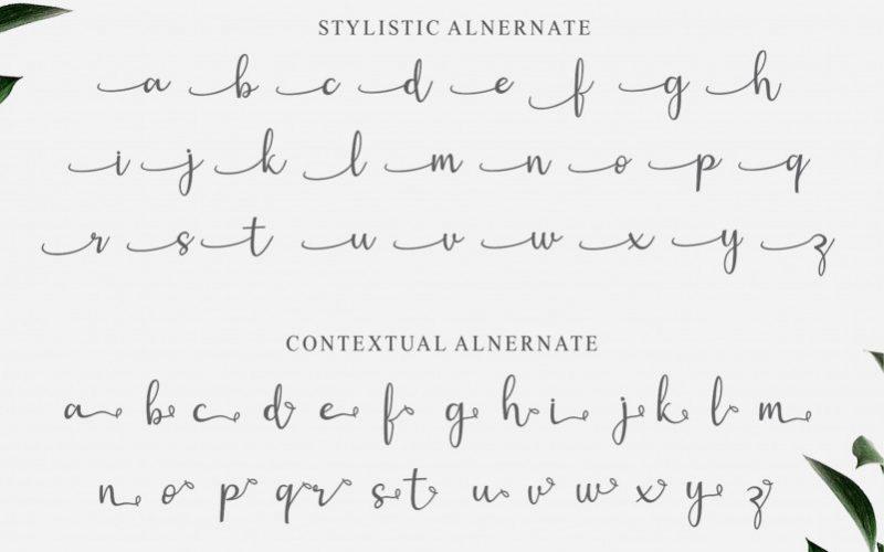 Gisella Handwritten Font-4