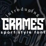 Grames Sport Style Font