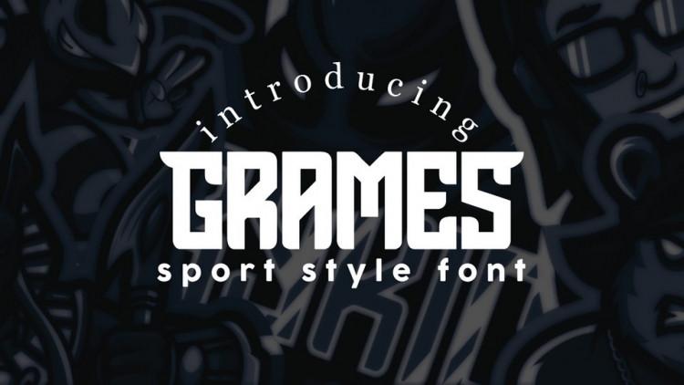 Grames Sport Style Font-1
