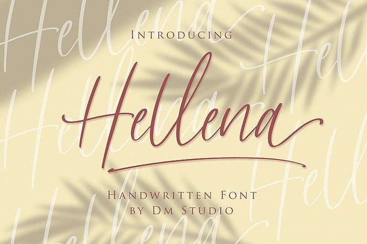 Hellena Handwritten Script Font-1