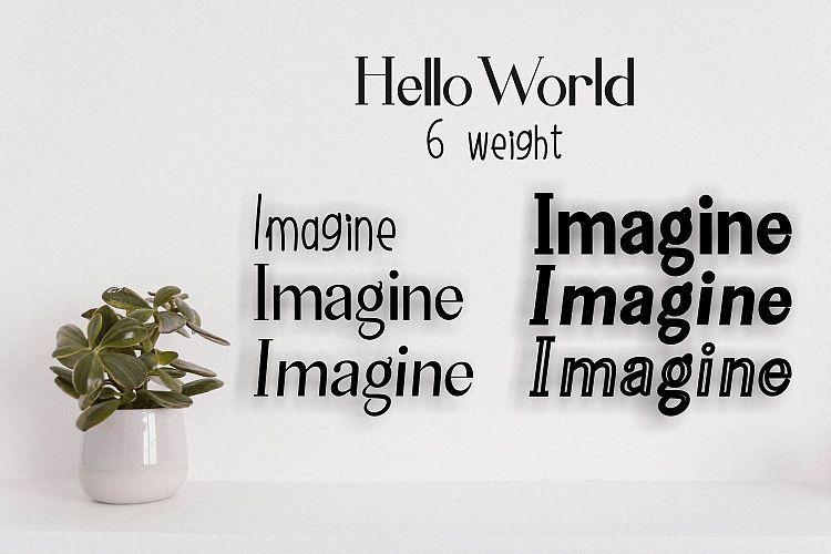 Hello World Font-2