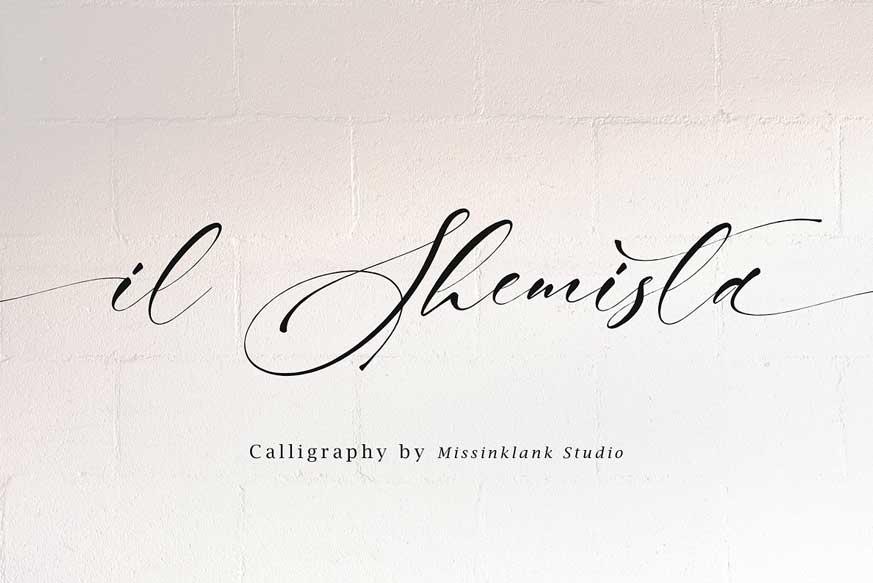 Il Shemista Font-1
