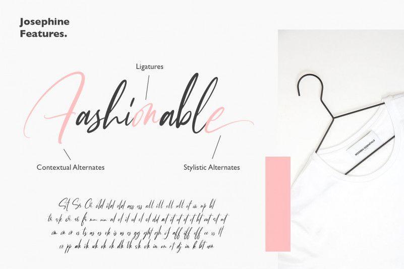 Josephine Script Font-2