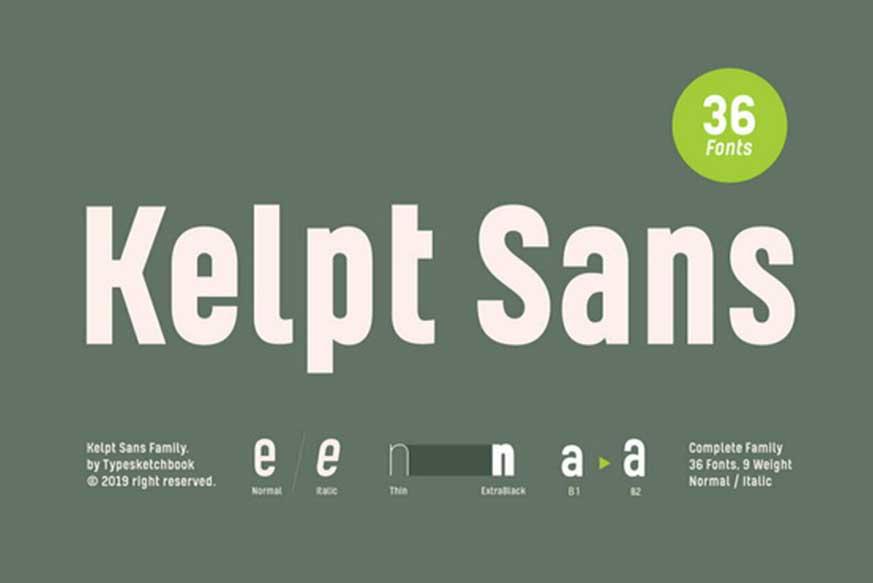 Kelpt Sans Font Family-1