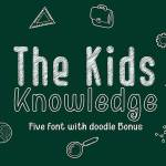 Kid Knowledge Font
