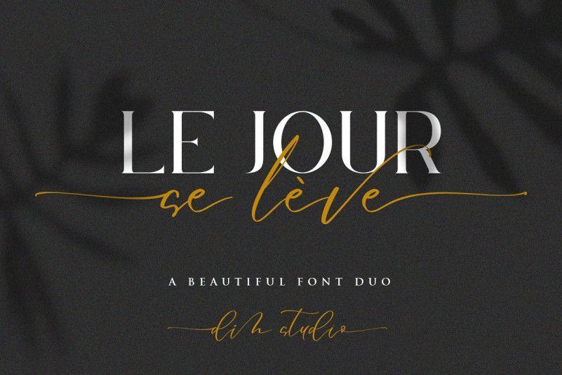 Le Jour Font Duo-1