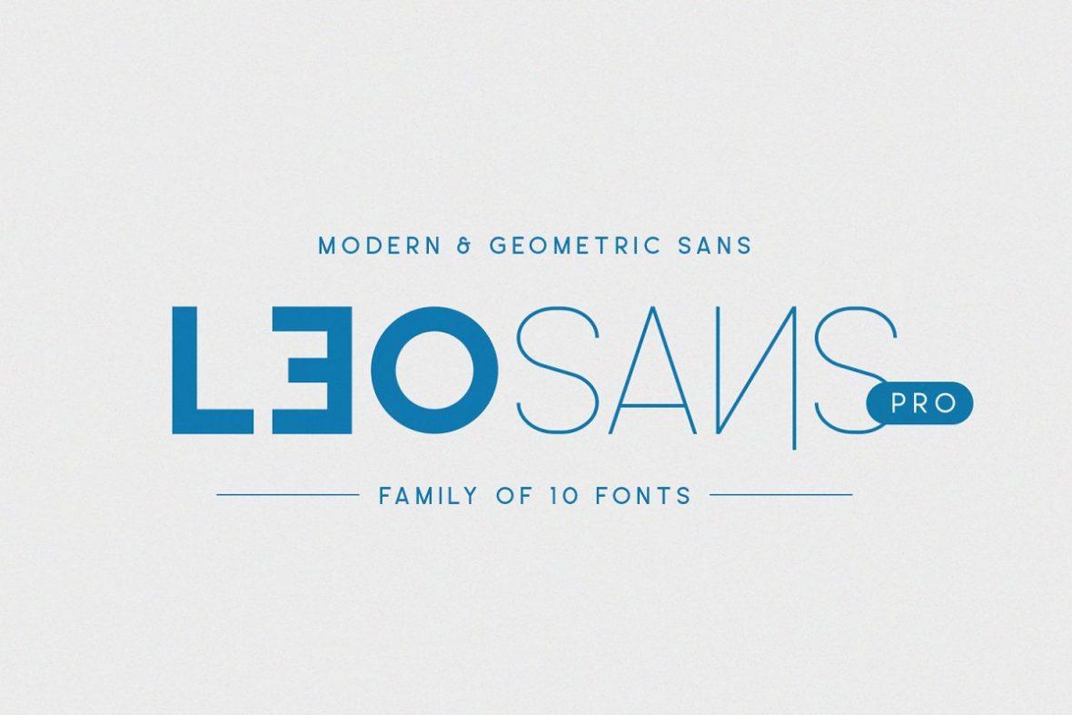 Leo Sans Pro Font-1