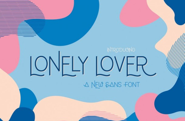 Lonely Lover Sans Font