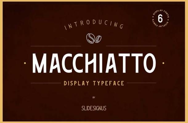 Macchiato Font Family