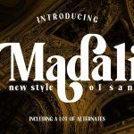 Madali Font