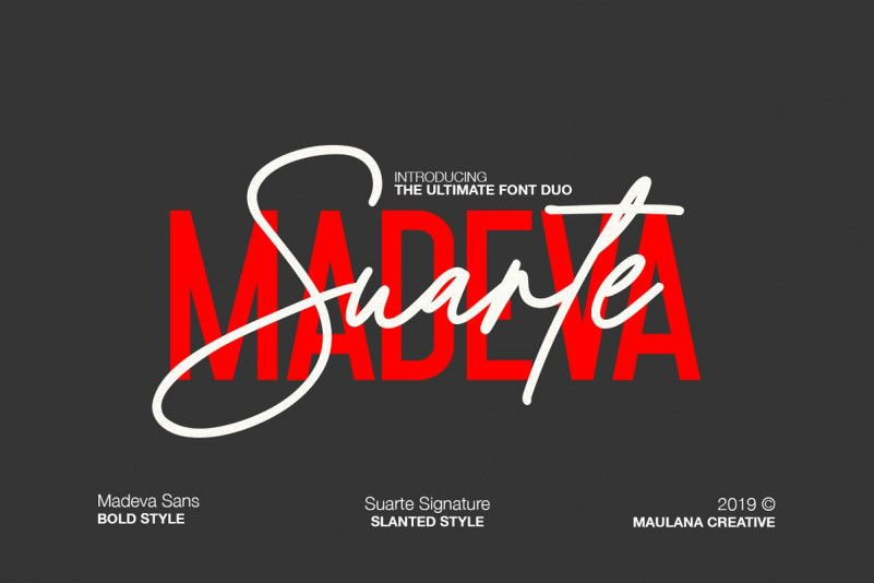Madeva Suarte Font Duo-1