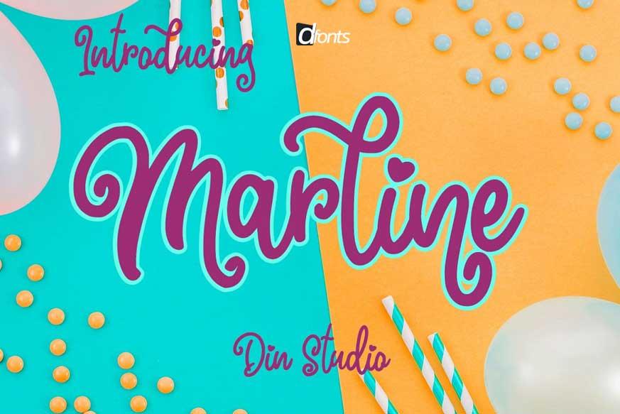 Marline Script Font-1